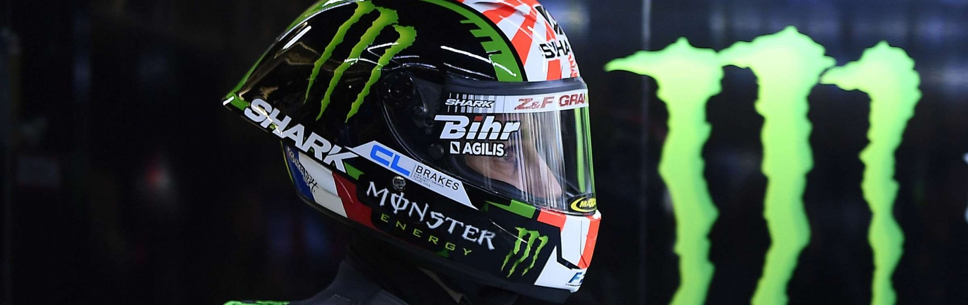 Monster athletes compete in Le Mans for MotoGP stop