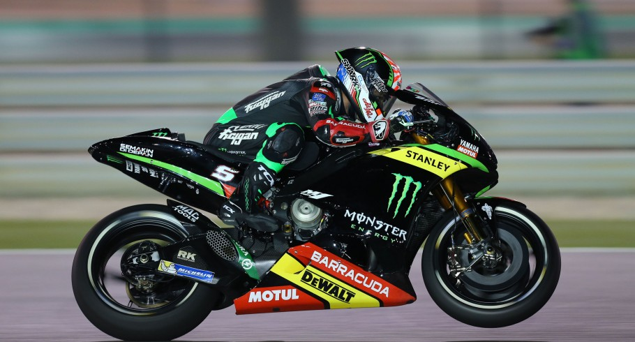 Monster athletes at the 2017 MotoGP season is Losail, Qatar