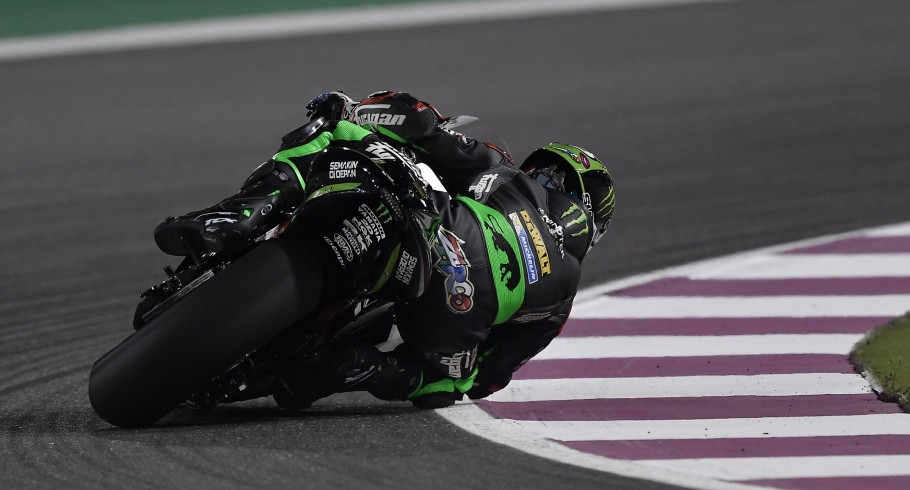 Johann Zarco at the 2017 Grand Prix of Qatar