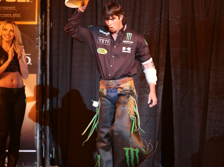 Monster athletes at the 2017 Bull Ford Tough Series in Albuquerque, New Mexico