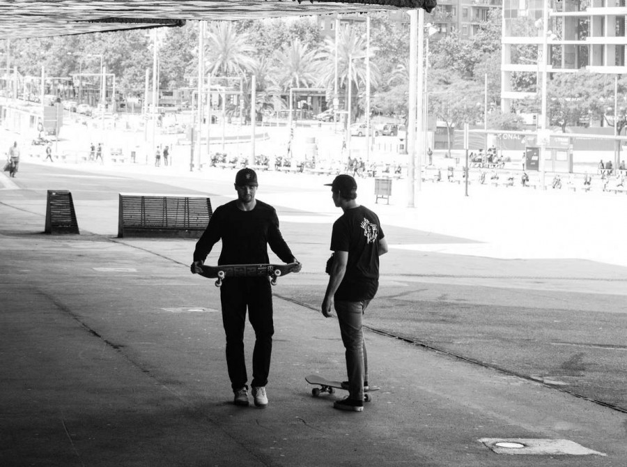 Monster Athletes Compete in the BARCY SLS Skate contest in Spain