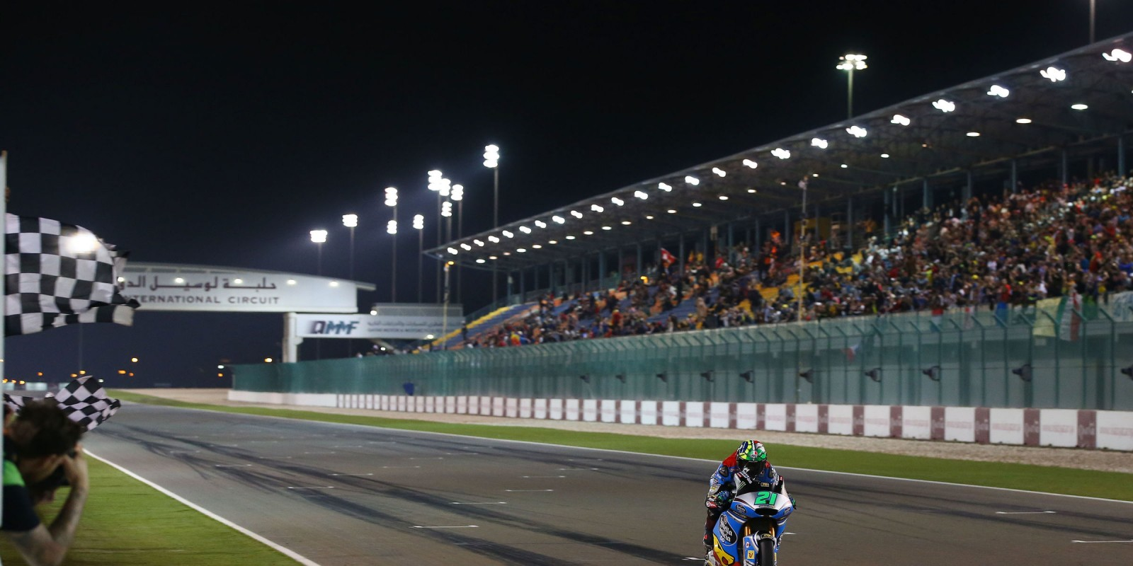 Monster riders at the 2017 Grand Prix of Qatar