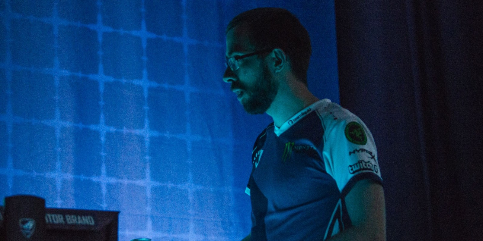 Picture of TLO on stage at Dreamhack Summer in Jönköping, Sweden