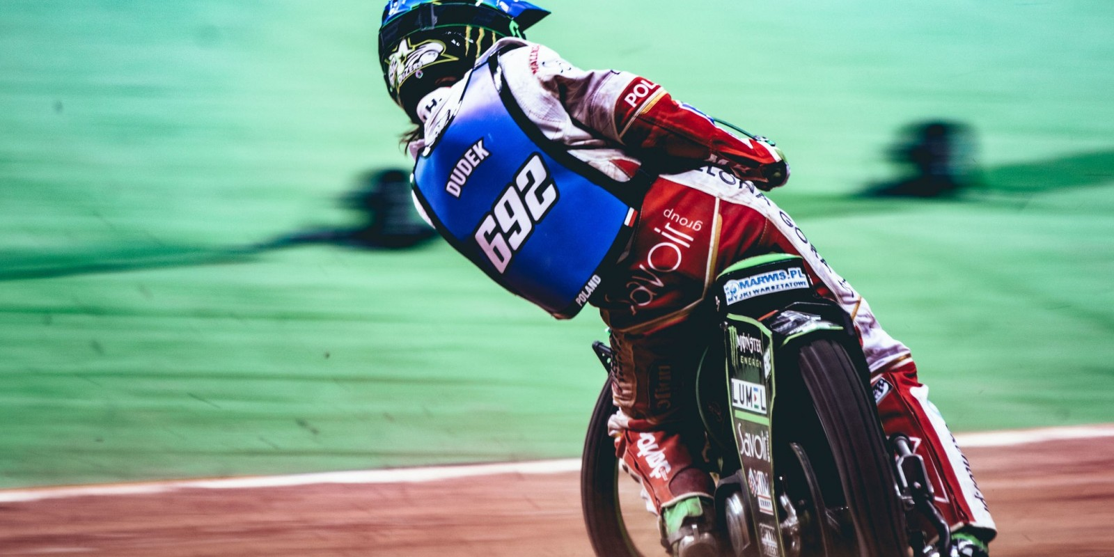 Images of Patryk Dudek from Warsaw Speedway GP