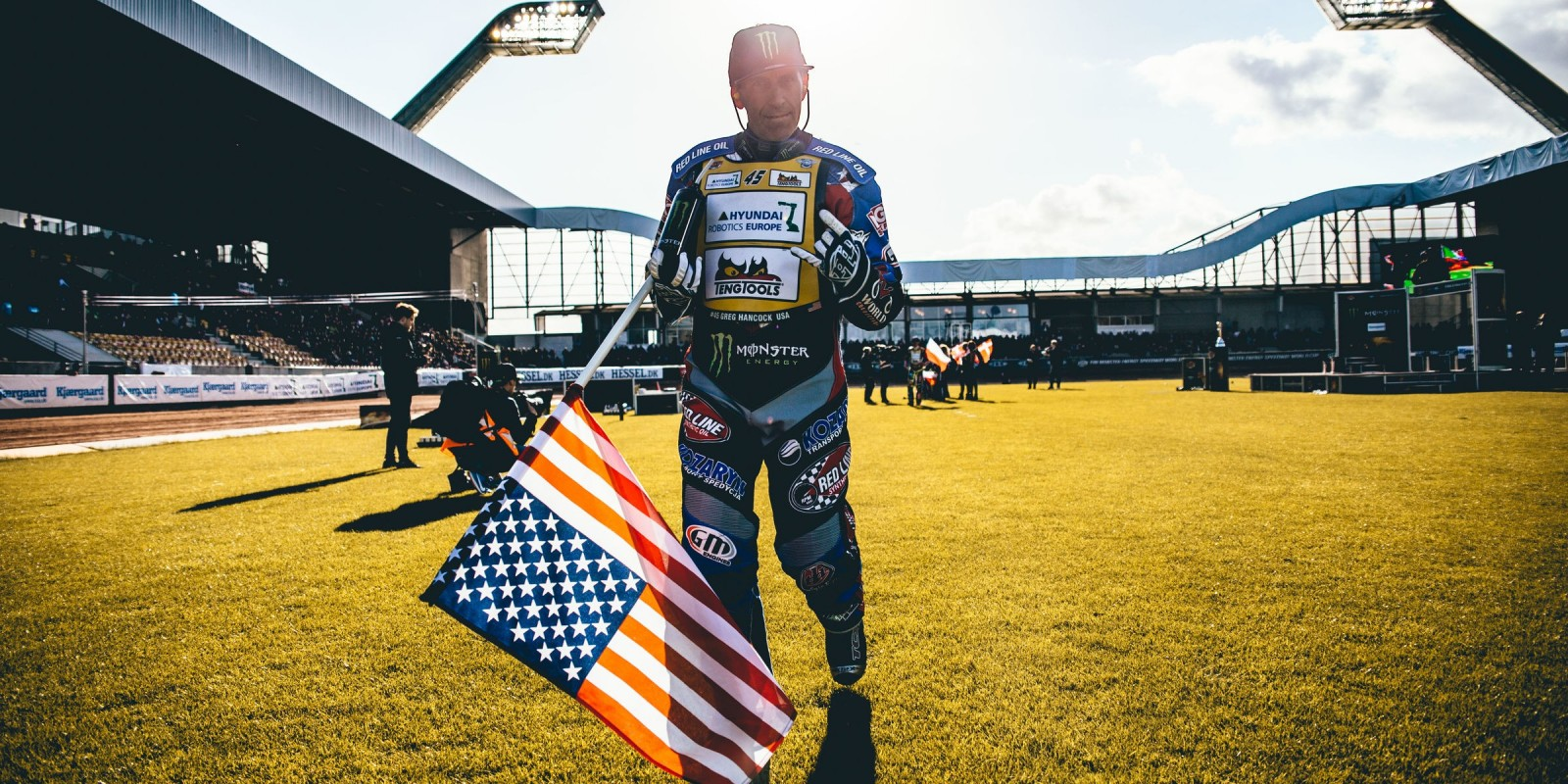 Images of Greg Hancock from the Danish SGP