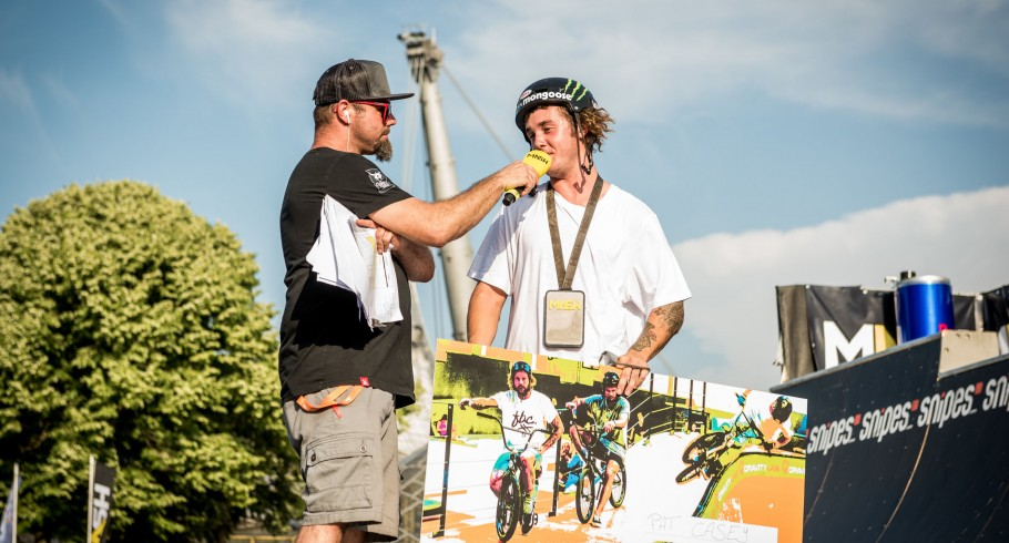 BMX Best Trick Contest at Munich Mash with Pat Casey