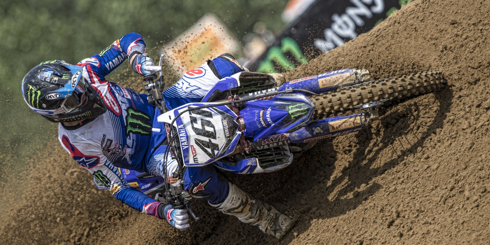 Romain Febvre at the 2017 Grand Prix of Lombardia