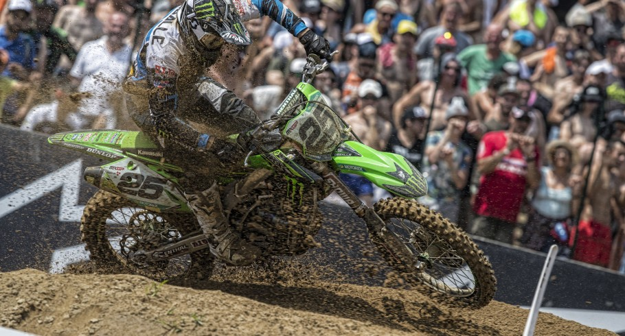 Clement Desalle at the 2017 Grand Prix of Lombardia
