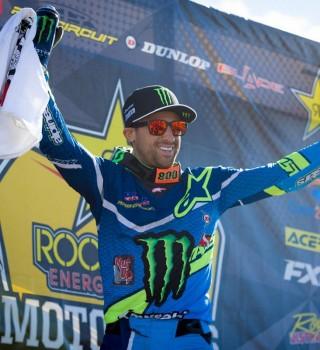 Mike Alessi gets on the podium with 2nd overall at round 4 of the 2017 Canadian Motocross Nationals in Regina, Saskatchewan