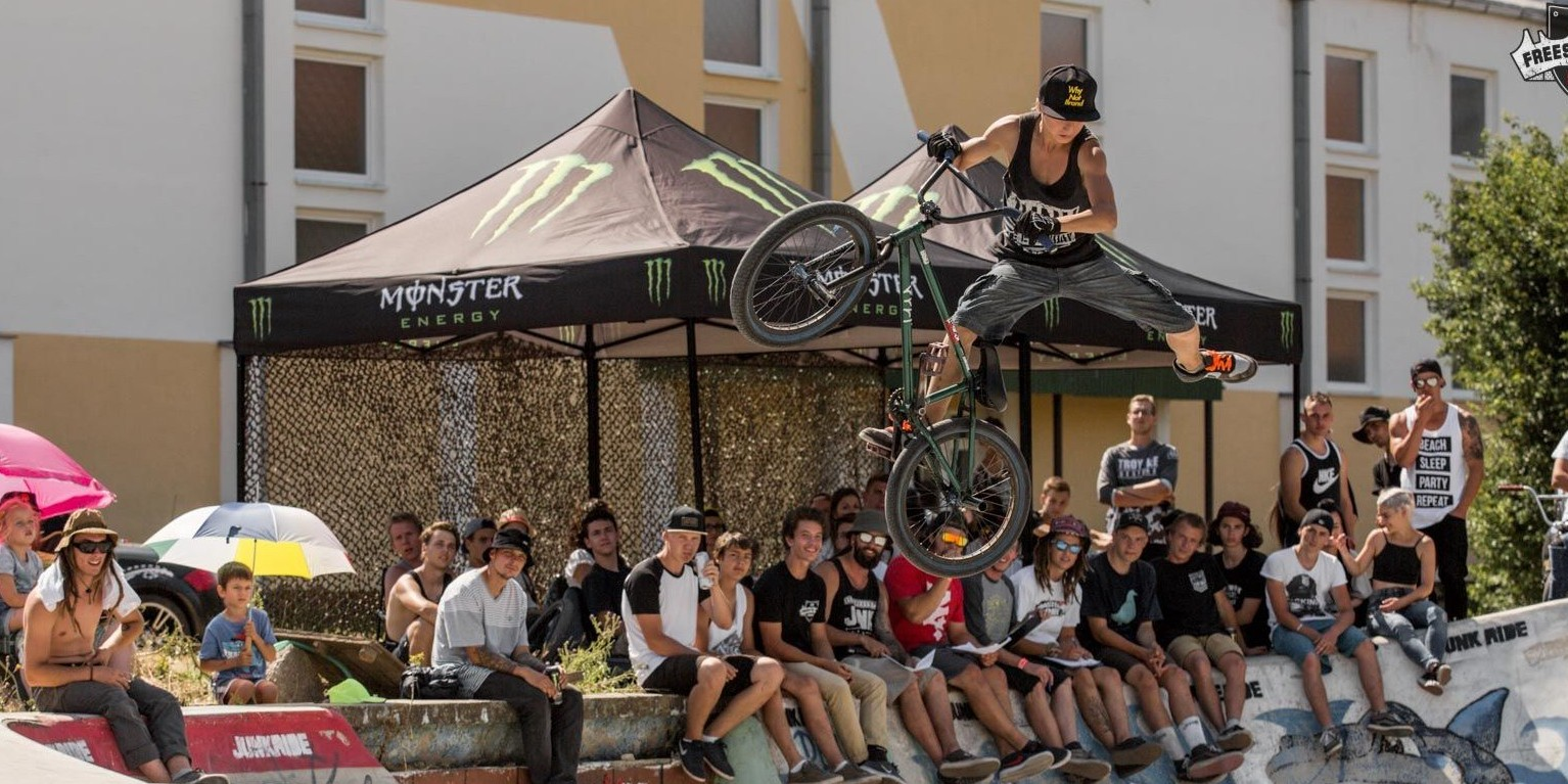 MTB, BMX, Skate event taking place in Surany, Slovakia.