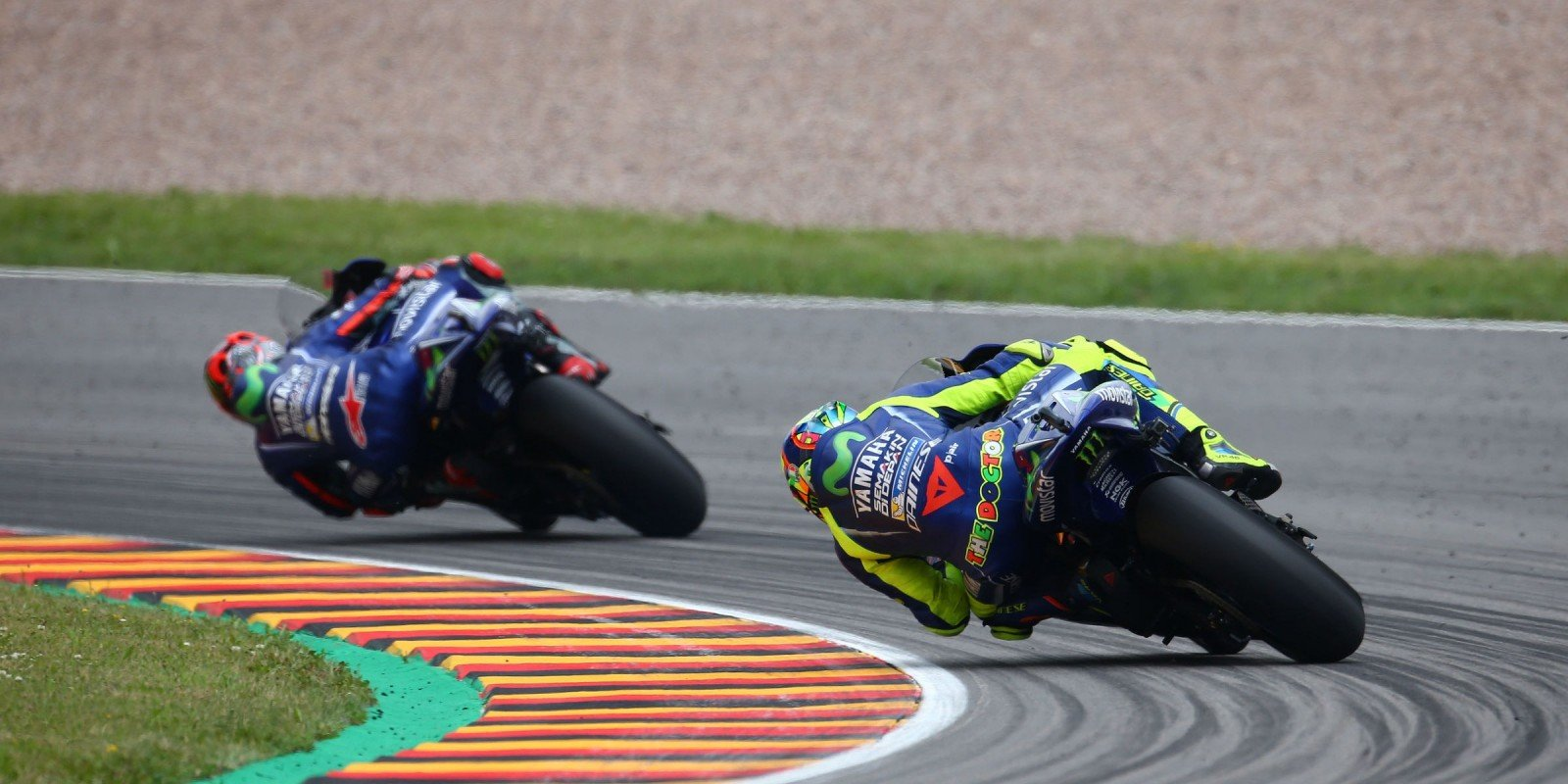 Action shots of our Monster riders at Sachsenring