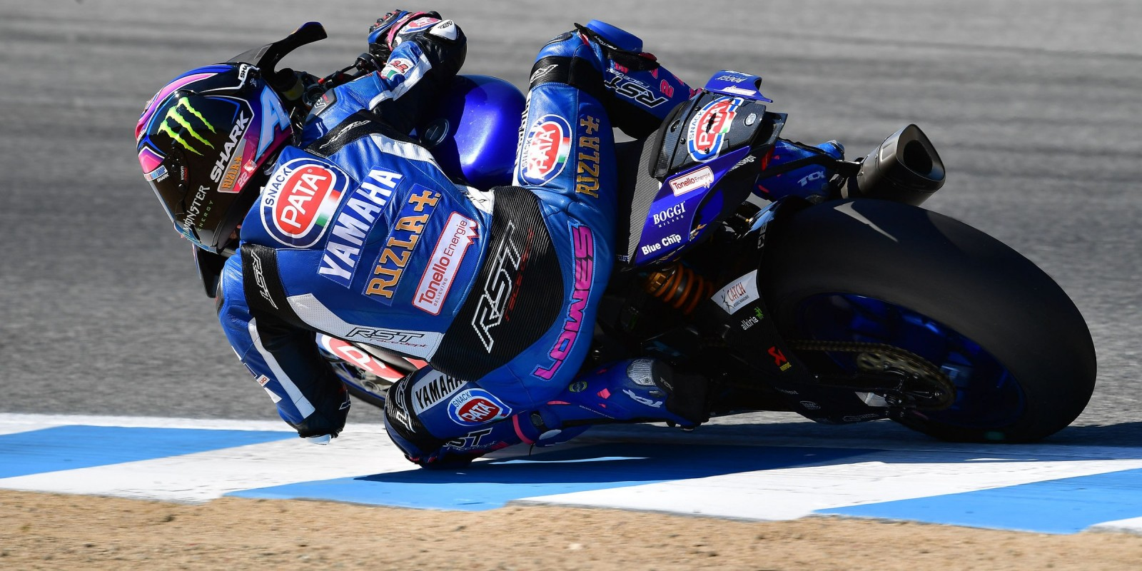 Alex Lowes at the 2017 World Superbike Geico US Round