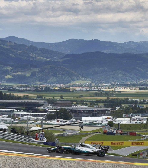 Practice and Qualifying images from the 2017 Austrian Grand Prix in Spielberg