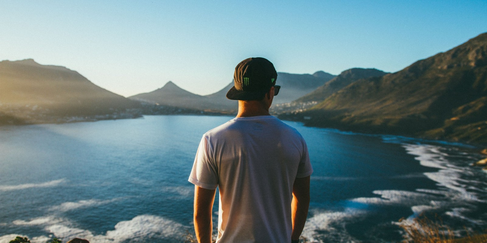 Lifestyle Shot of Gearoid on a trip in South Africa
