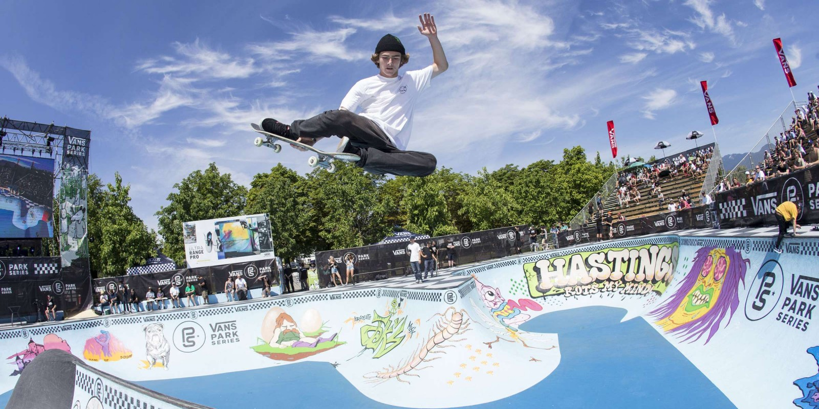 Action shots at Vans Park Series in Vancouver, BC