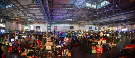 LAN Party at the DreamHack Leipzig.
