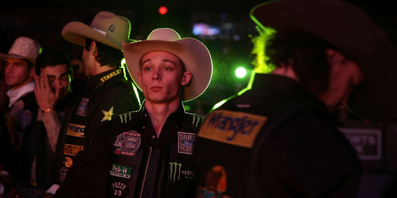 Gage Gay in the opening during the third round of the Chicago Built Ford Tough series PBR