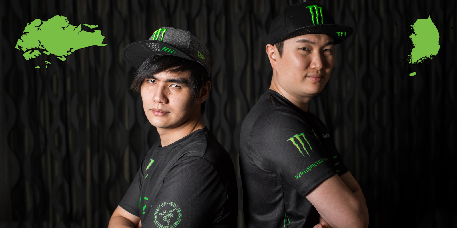 Photos of Xian and Infiltration for their signing announcement