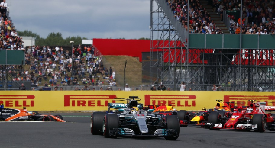 Sunday images from the 2017 British Grand Prix