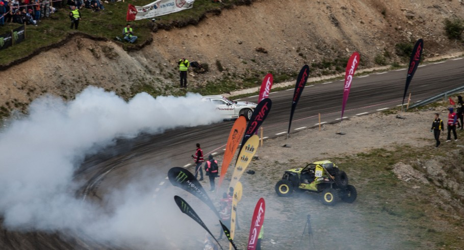 Event imagery taken at the third stage of the Romanian Drift Championship that took place in Rarau, Romania. We also had a local drift athlete in the event, Calin Ciortan that won 1st prize.