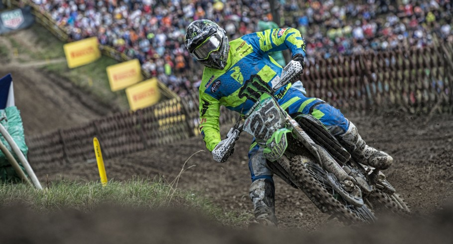 Clement Desalle at the 2017 Grand Prix of Czech Republic
