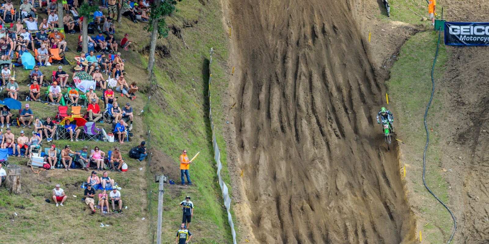Action shots of our athletes at MX Millville