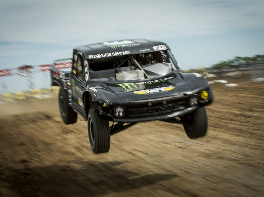 Monster Energy racer Brian Deegan took an instant liking to the newest track on the Lucas Oil Off Road Racing Series' schedule in Wheatland, Missouri