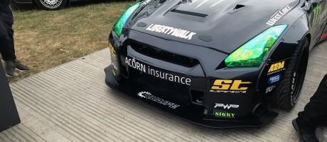 Baggsy's GTR at Goodwood FOS