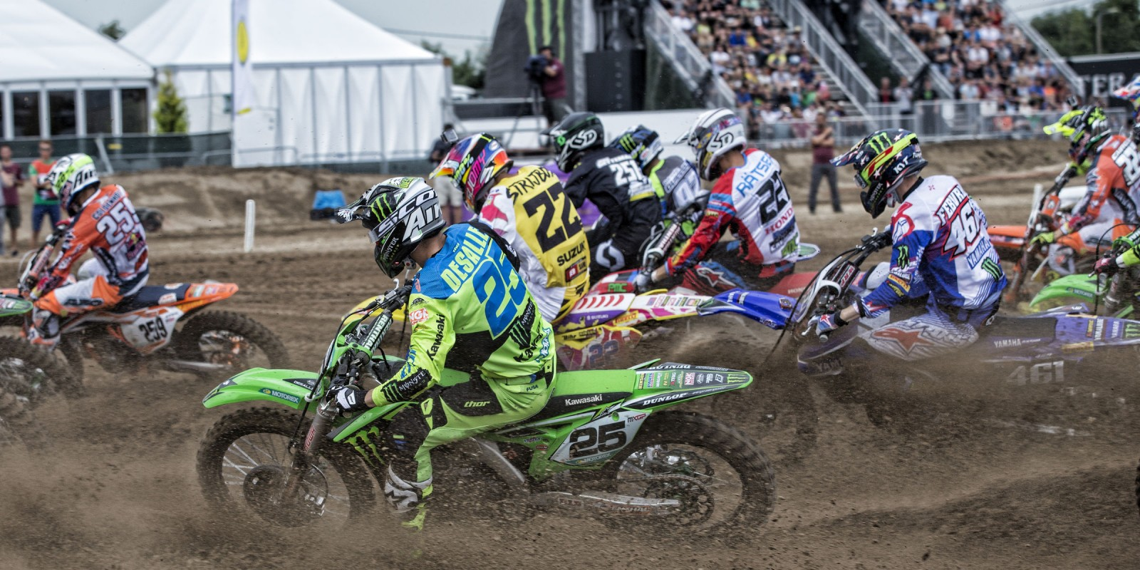 Clement Desalle at the 2016 MXGP of Belgium