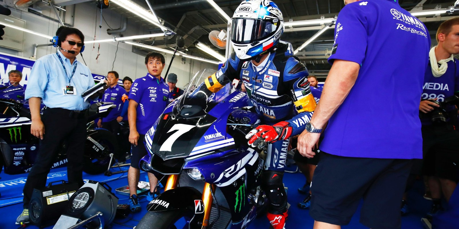 Action shots of our athletes at Suzuka 8 hour, Japan