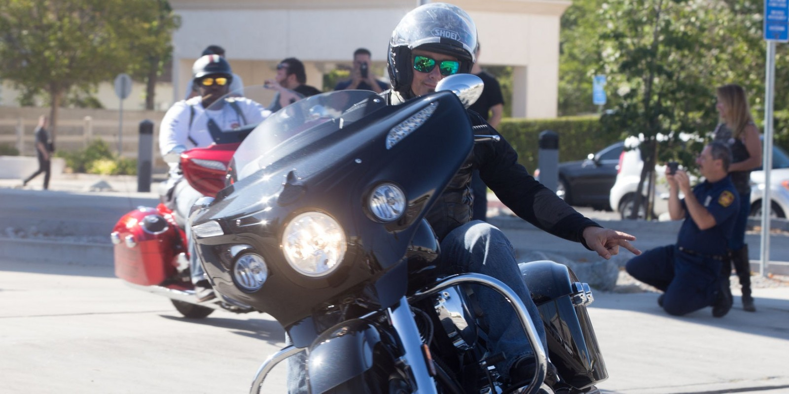 The Veterans Charity Ride 2017 left Los Angeles enroute to Sturgis with multiple stops along the way with the help of Monster Energy.