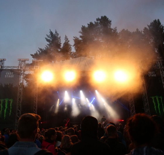 Stage at Devilstone 2017