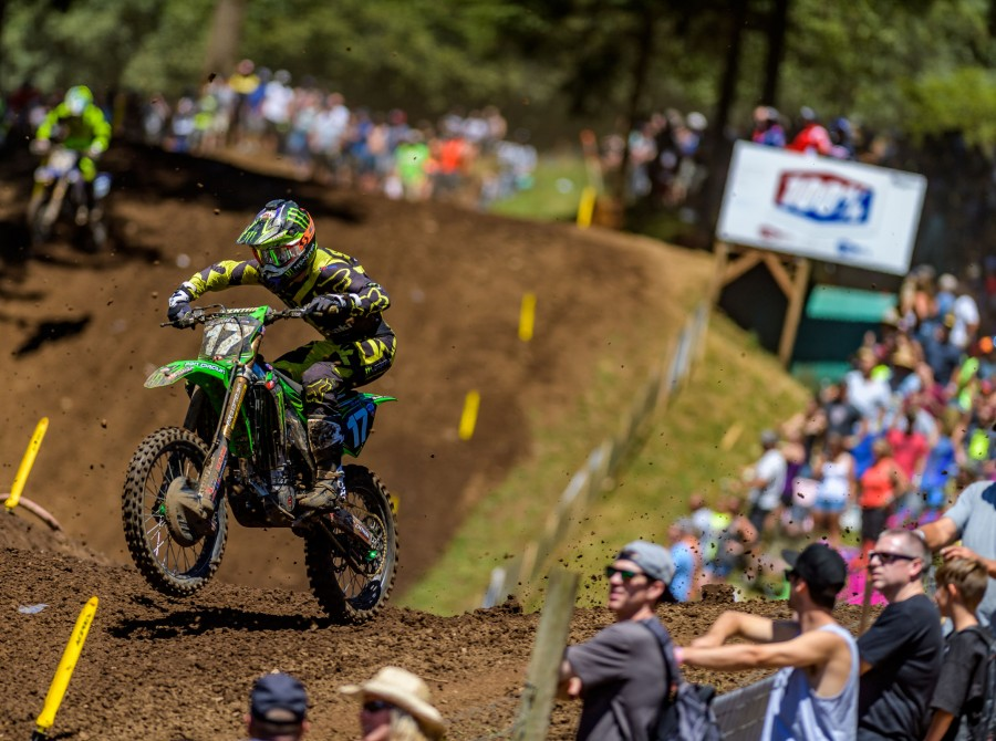 Image from the 2017 Washougal Motocross round nine of the 2017 Lucas Oil Pro Motocross Championship.