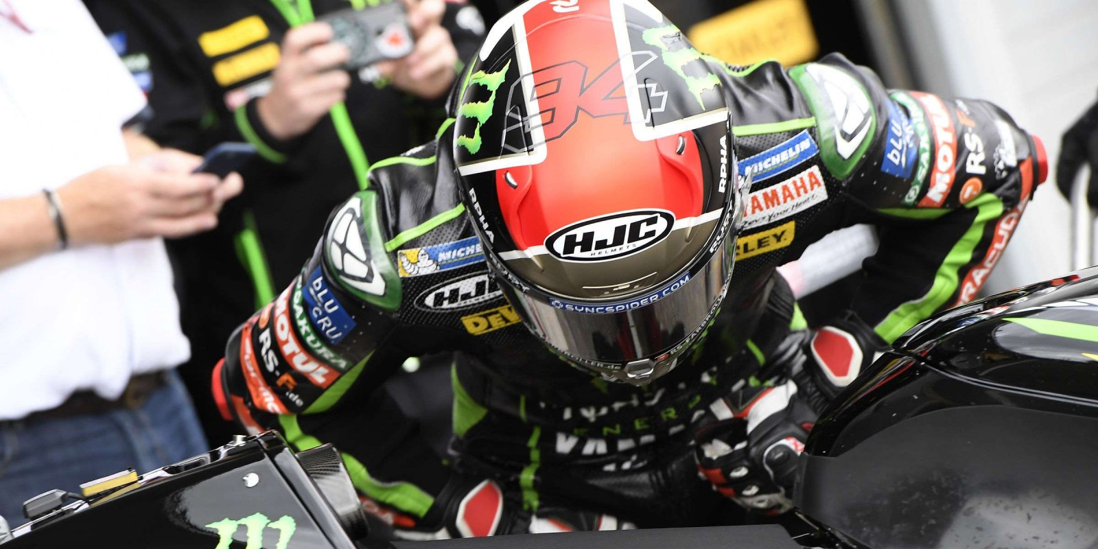 Action from the ninth round of 2017 MotoGP and Sachsenring for the Grand Prix of Germany
