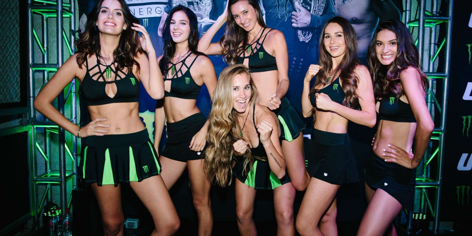 Monster UFC experience at Mexico City with meet & greet with Yair Rodriguez, Monster athletes and Monster Girls.