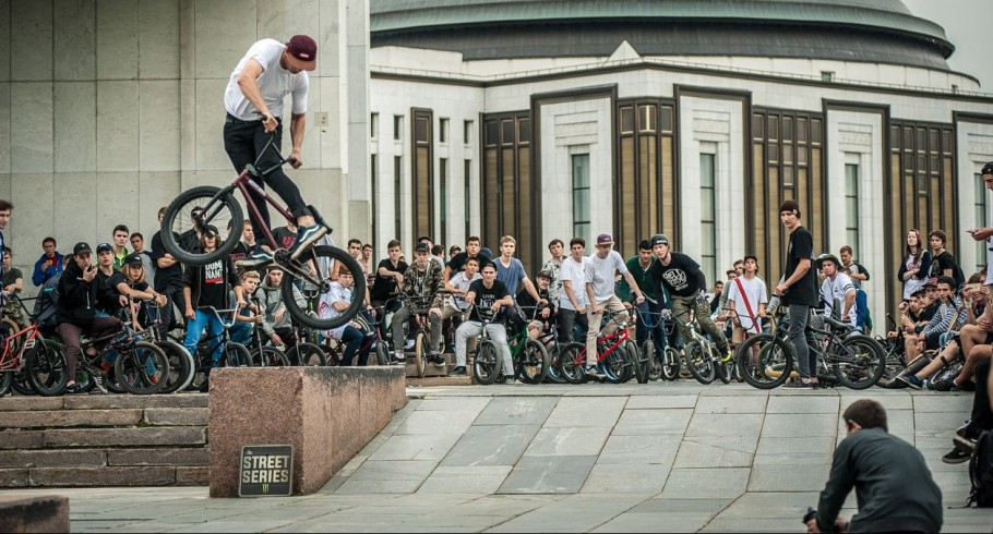 This is  images from The Street Series Event in Moscow