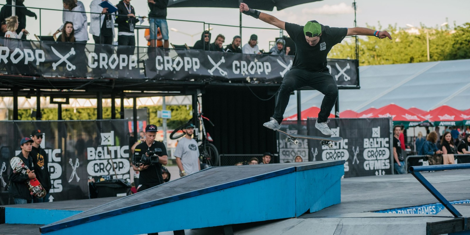 Baltic Games 2017 extreme sports festival - Skate finals with Riso Tury
