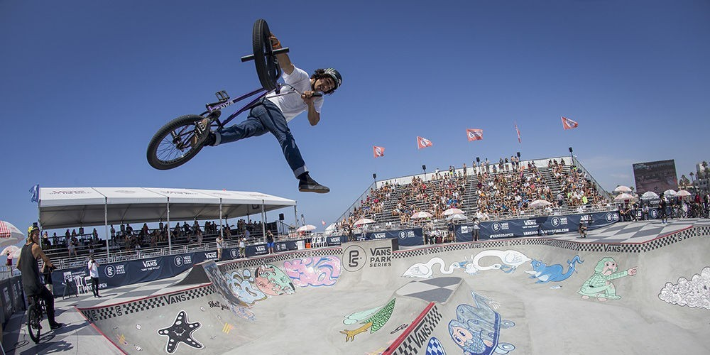 Monster Energy's Kevin Peraza Takes Third Place at Vans BMX Pro Cup