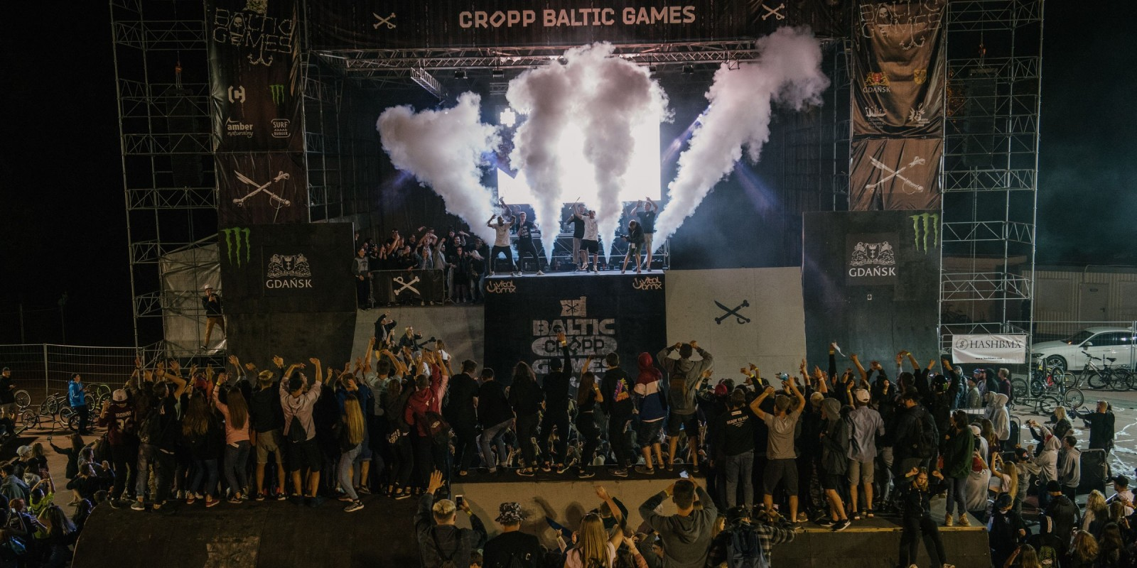 Baltic Games 2017 extreme sports festival - final celebrations