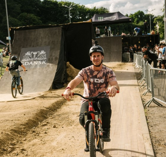 Baltic Games 2017 extreme sports festival - MTB Dirt finals with Sam Pilgrim
