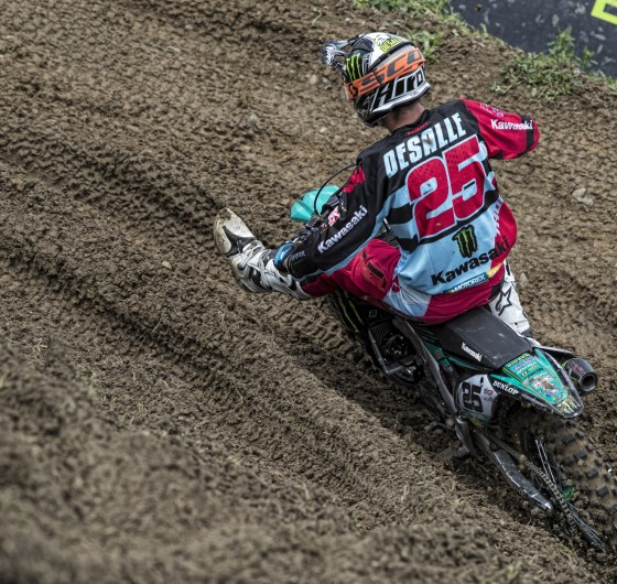 Clement Desalle at the 2017 Grand Prix of Switzerland
