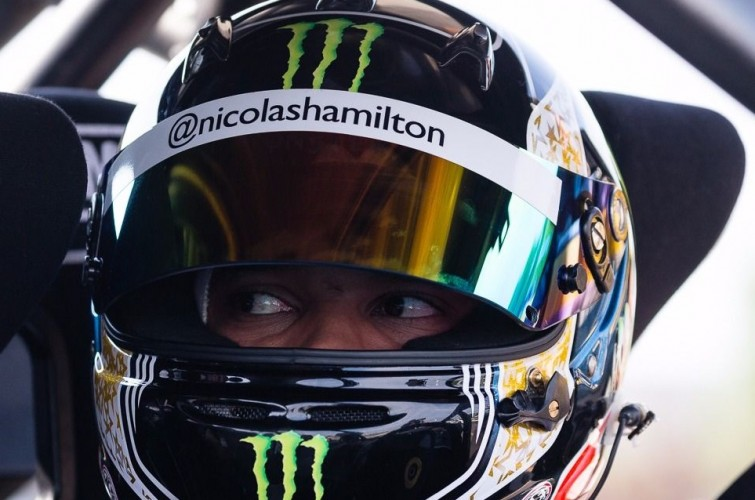 Nicolas Hamilton comes to Canada to race (CXE) Side-By-Side at GP3R