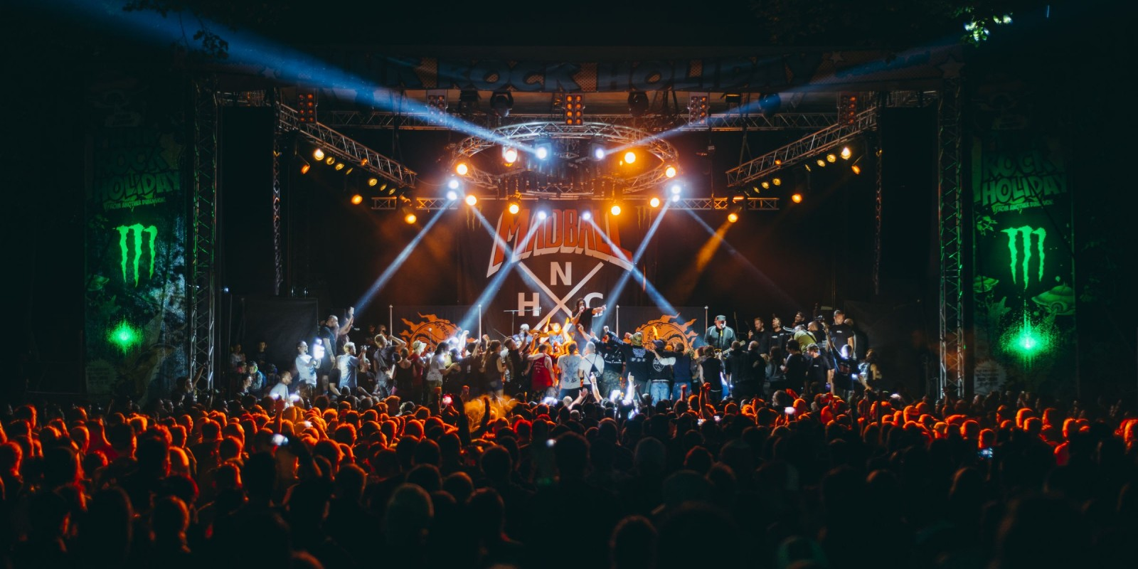 Image of the 2017 Punk Rock Holiday in Slovenia