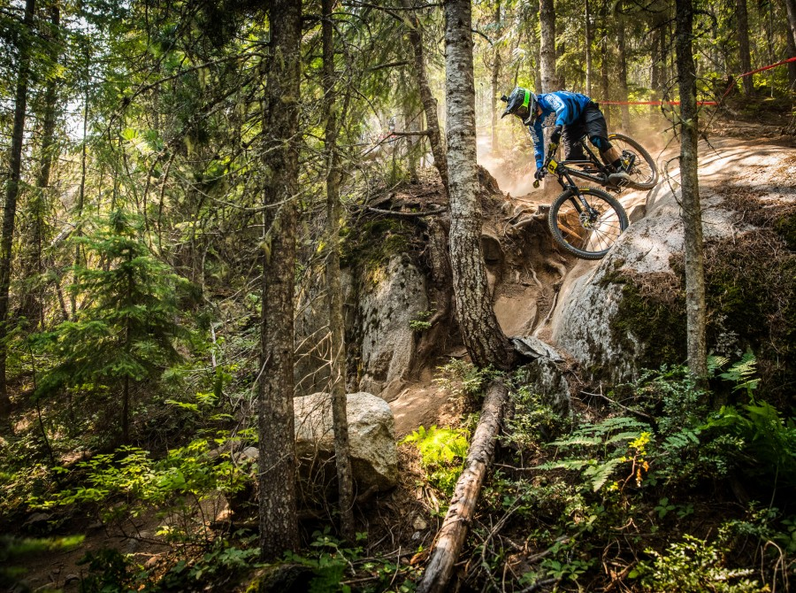 Actions shots from the 2017 Crankworx Canadian Open Enduro
