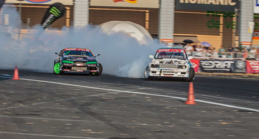 Imagery from the 4th stage of the Romanian Drift Championship that took place in Constanta, Romania.