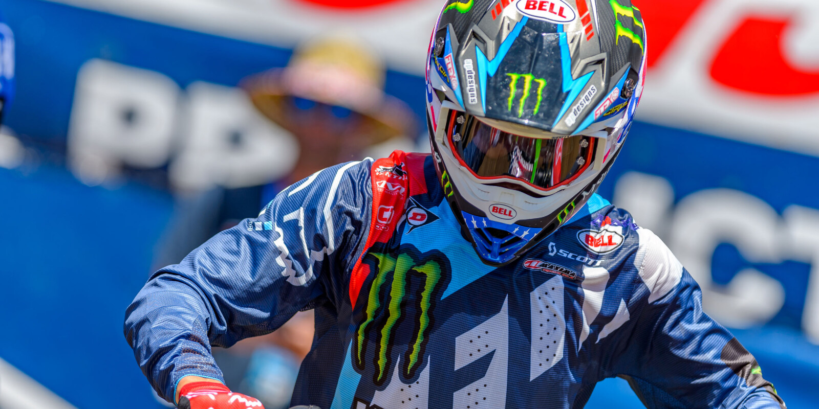 Monster Athletes compete in the 2017 Red Bud MX