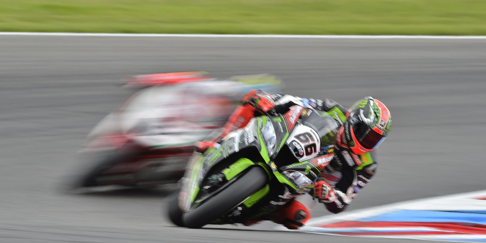 Tom Sykes at the 2017 World Superbike German round