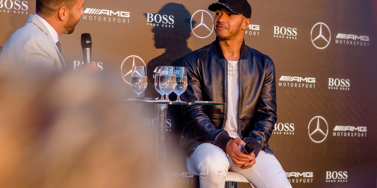 Photos from exclusive Mercedes Benz - Hugo Boss Formula 1 party in Hungary