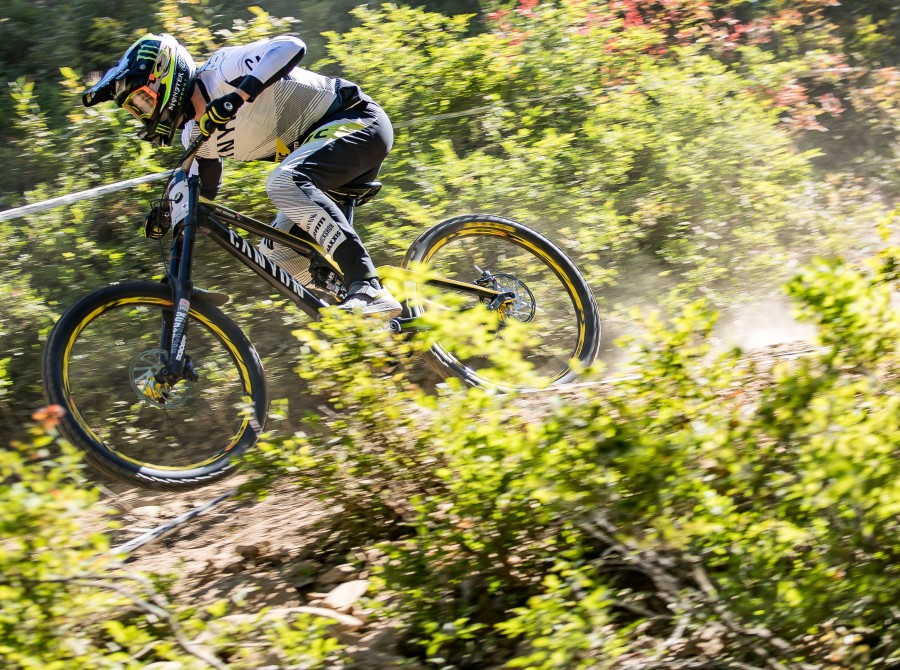 Action images at Crankworx in Whistler