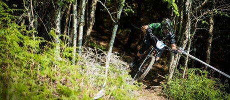 Action sports of the 4th round of EWS event in Wicklow